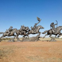 大型人物铜雕群像