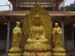 伟东铜雕精品铸铜雕塑地藏王菩萨图片大全