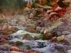 田跃民《吉尔吉斯油画—风景6》60cm×80cm2万元/幅