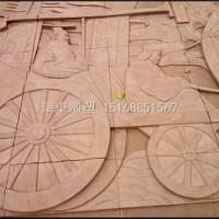 济南海卓雕塑浮雕壁画系列加工定制