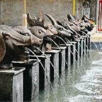 汇融园林雕塑动物雕塑石雕十二生肖加工定制