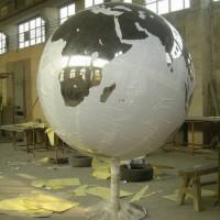 华菲特不锈钢球形雕塑加工定制价格详情
