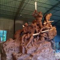 马超人物雕塑加工定制价格详情