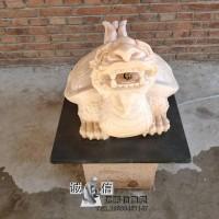 石雕十二生肖龙晚霞红动物雕刻风水招财属相雕塑公园广场厂家直销