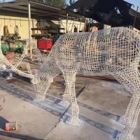 玉博茂不锈钢动物雕塑加工定制价格详情