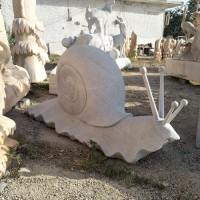 塑奇石雕蜗牛和王八加工定制