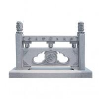 宏泰寺庙古建石雕栏杆加工定制