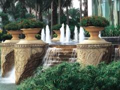 惠安石雕|喷水池风水球花盆花钵图片大全