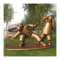 神奇人物雕塑加工定制