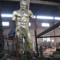 百年盛业铸铜肖像人物加工定制