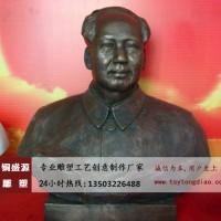 铜盛源毛主席铜像加工定制价格详情