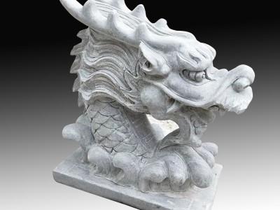 石雕龙龟流水雕塑