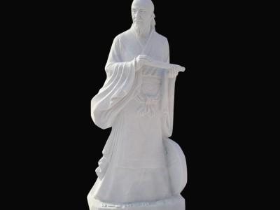 石雕张仲景名人雕塑
