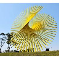 伊甸园景观不锈钢雕塑加工定制