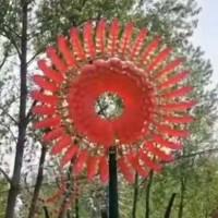 伊甸园风动雕塑加工定制