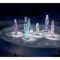 伊甸园灯光雕塑加工定制