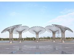 伊甸园广场不锈钢雕塑图片大全