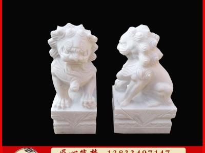 石雕小狮子动物雕塑厂家定制销售