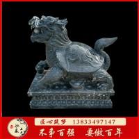 石雕流水龙龟动物雕塑