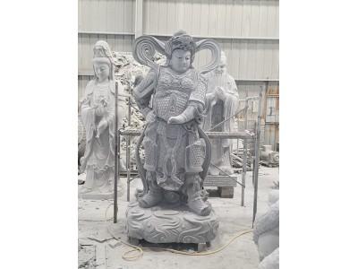 石雕四大天王佛像雕塑