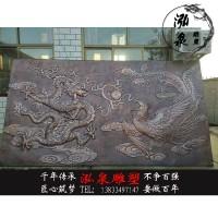 紫铜浮雕龙凤呈祥雕塑中式背景墙壁画城市地雕文化墙景观装饰摆件