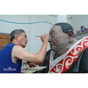 中国著名雕塑家:刘万琪