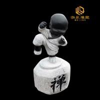 石雕小和尚佛像雕塑