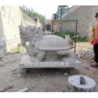 石雕龙龟仿古流水雕塑