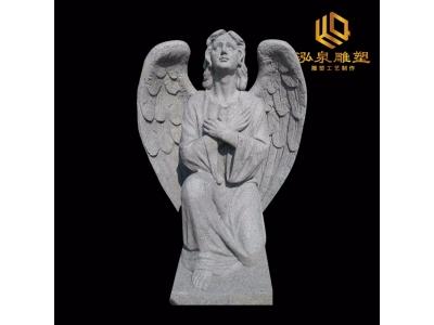 石雕西方人物天使雕塑