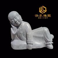 石雕小沙弥人物佛像雕塑
