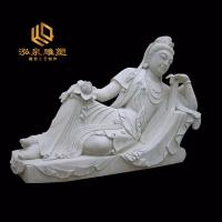 石雕卧佛汉白玉人物雕塑厂家直销