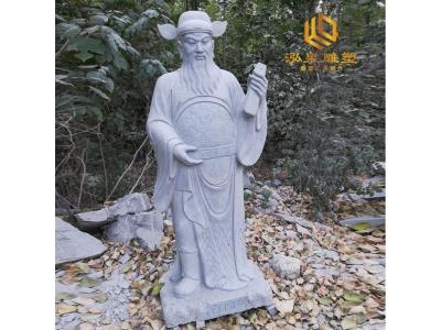 石雕八仙过海人物像