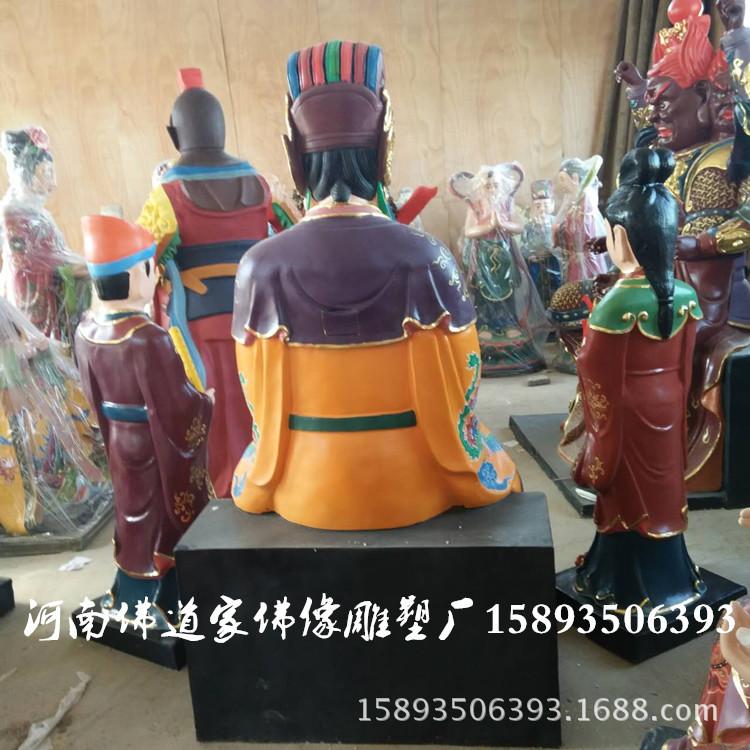 彩绘树脂佛像 碧霞元君1.8米 泰山奶奶神像厂家 河南佛道家示例图2