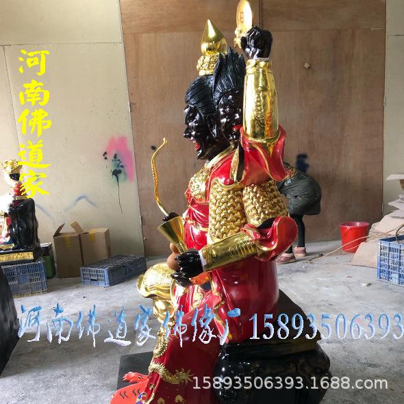 2019新款火神雕塑 火神祝融保平安 火神爷佛像价格 1.6米火神示例图1