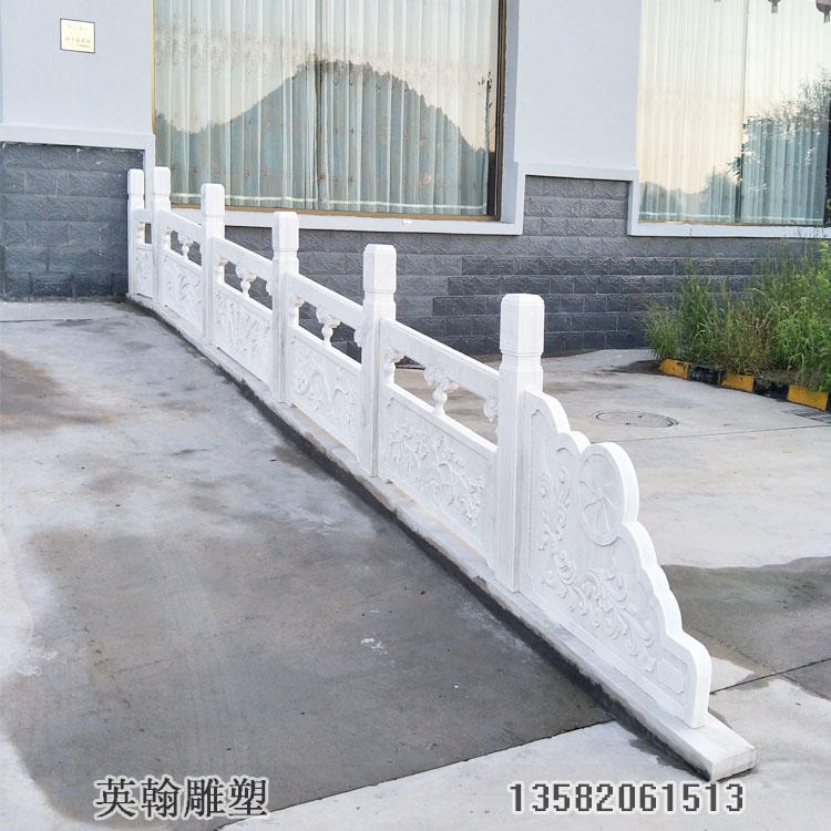 花岗岩栏板 石雕栏板 英翰雕塑厂家定制