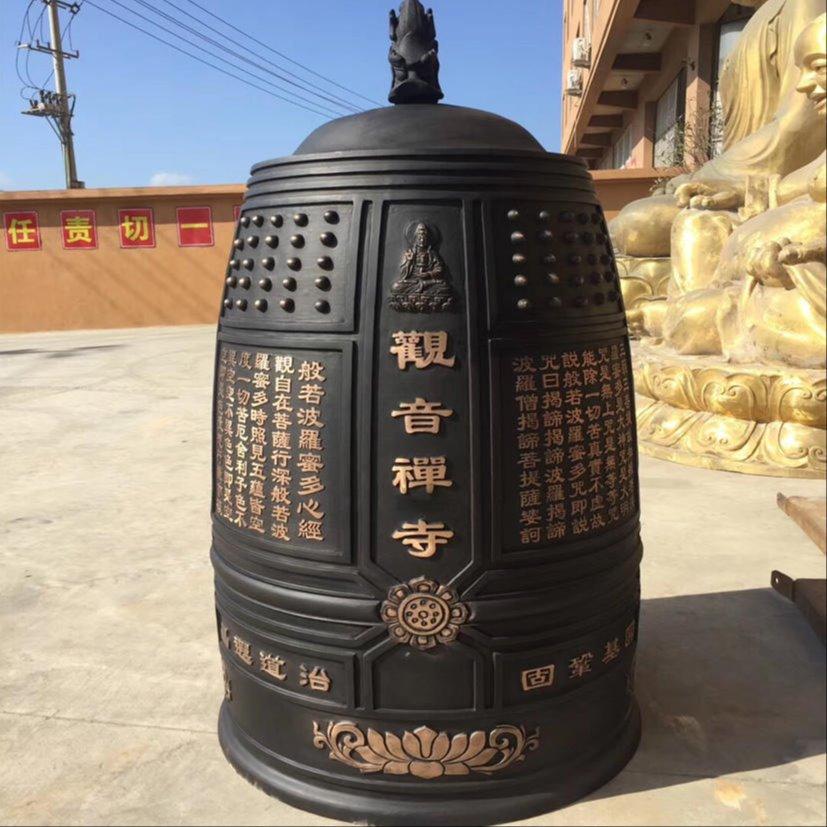 寺院铜钟定制 禅寺铜钟厂家生产