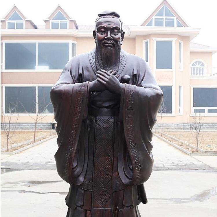 古代人物铜像制作厂 上古神话人物铜雕像 圣喜玛