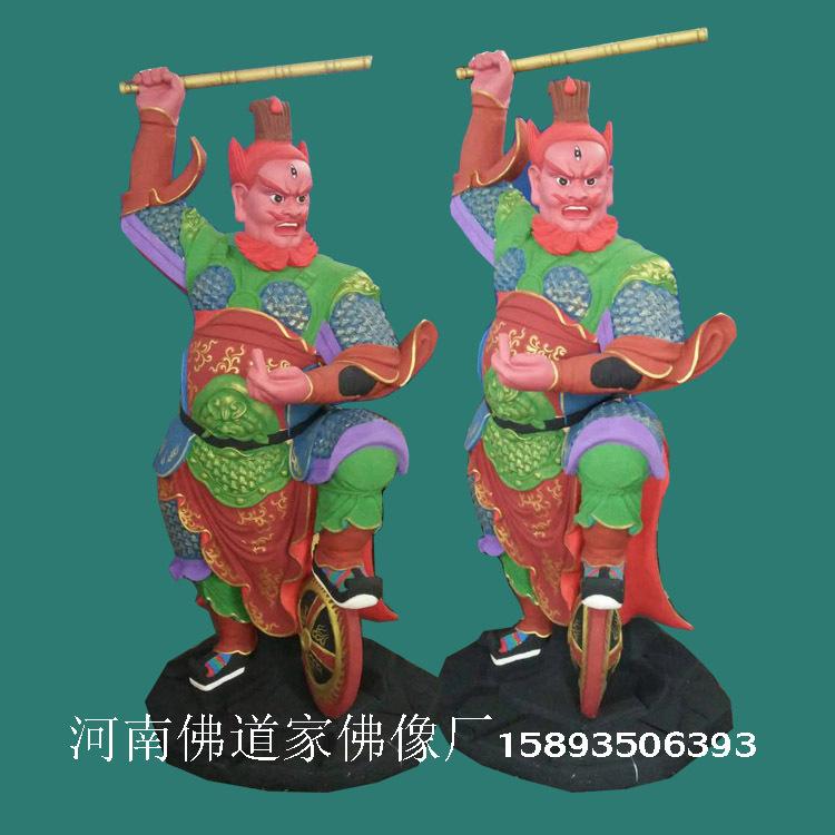 道教神像河南佛像厂家专业塑造批发 五显大帝 王天君 王灵官佛像示例图2