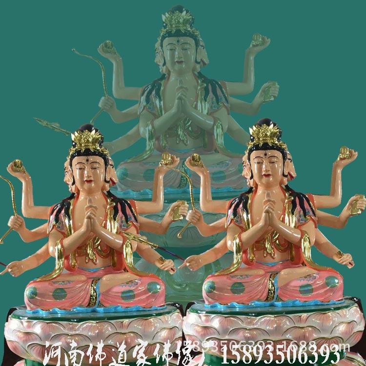 准提佛母佛像厂家 准提菩萨价格 七俱胝佛母 准提观音佛像图片示例图3