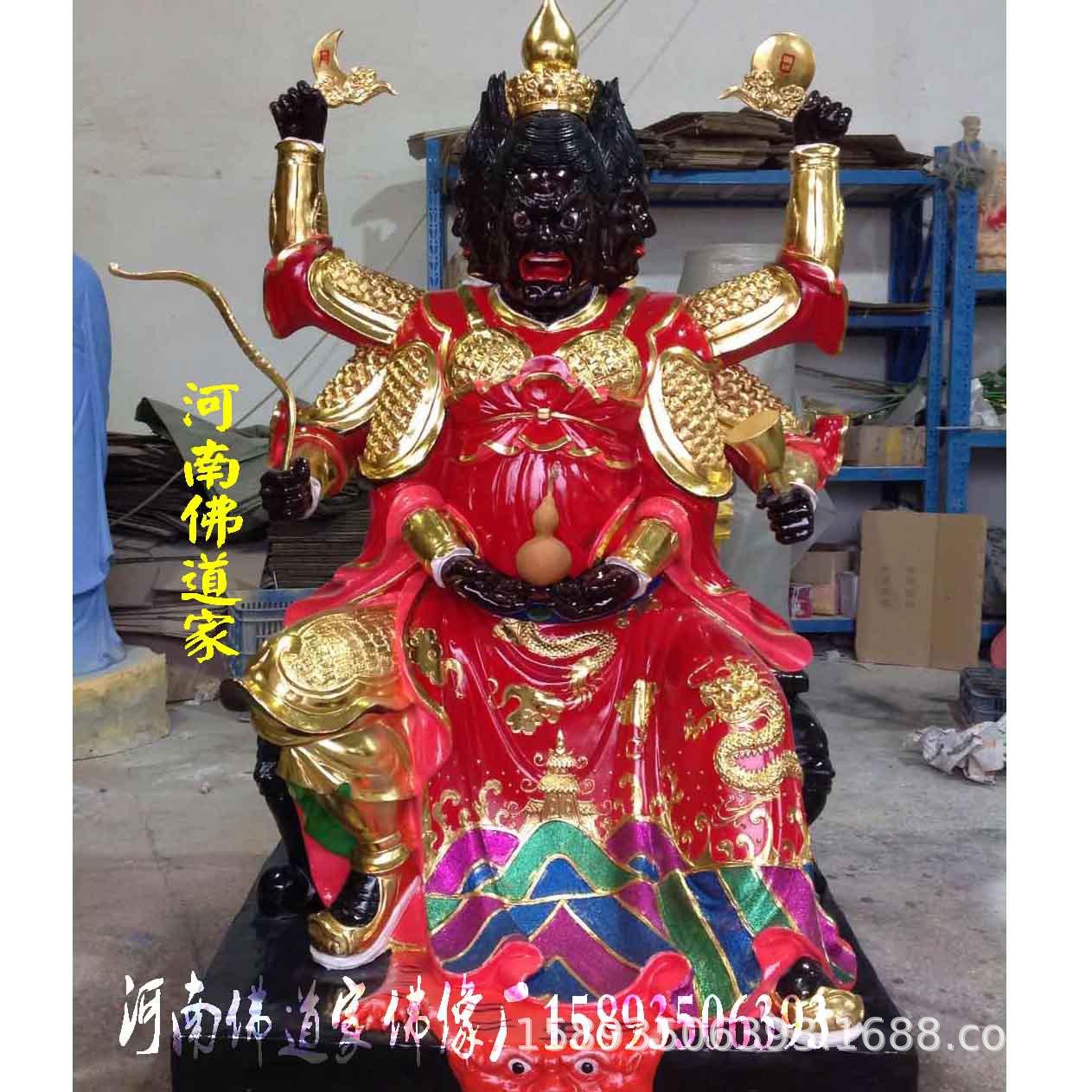 2019新款火神雕塑 火神祝融保平安 火神爷佛像价格 1.6米火神示例图5
