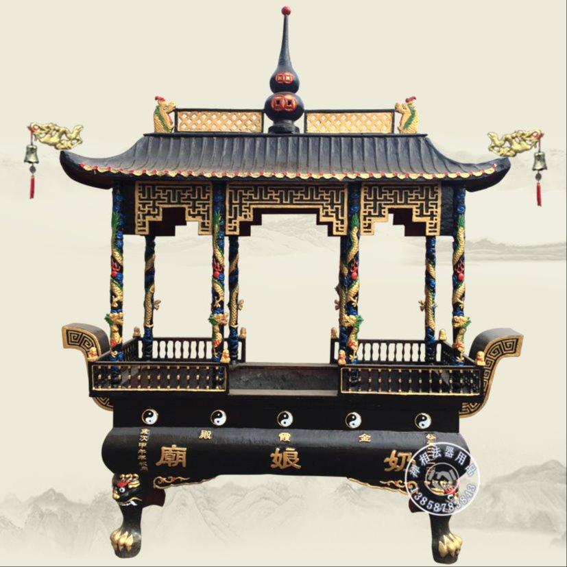 寺庙长方形香炉 道院八卦长方形香炉 宗教法器定制