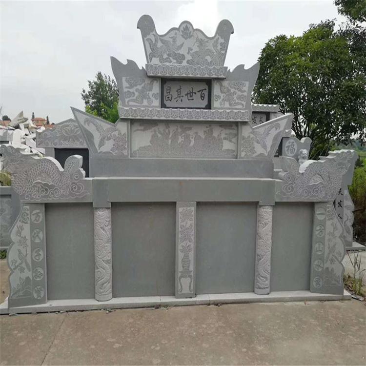 万象 石雕石碑墓碑 豪华石雕墓碑 定制出售