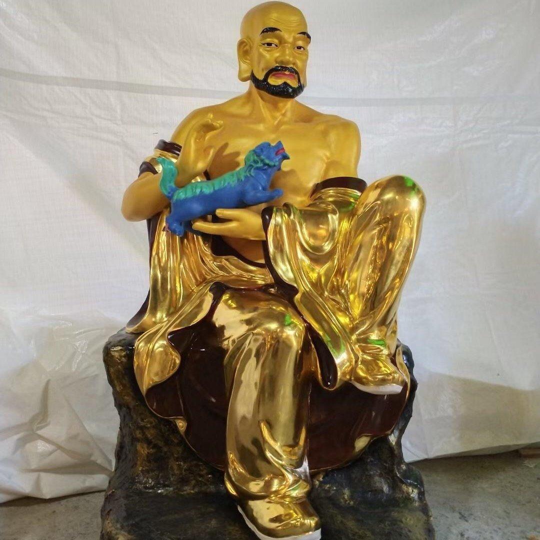 铸铜十八罗汉佛像 佛像雕塑定制