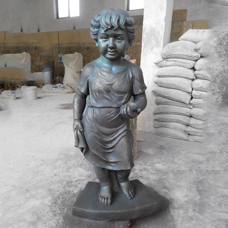 玻璃钢欧式儿童雕塑 欧式人物雕塑 玻璃钢人物,鹏钊