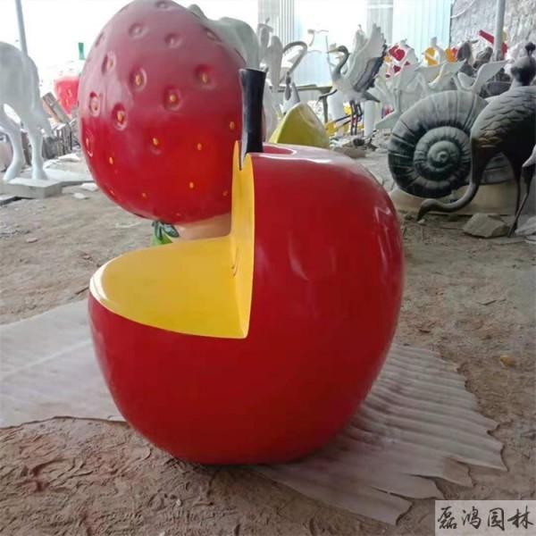 三亚磊鸿园林玻璃钢雕塑厂 景区园林玻璃钢雕塑植物瓜果雕塑工艺品制作