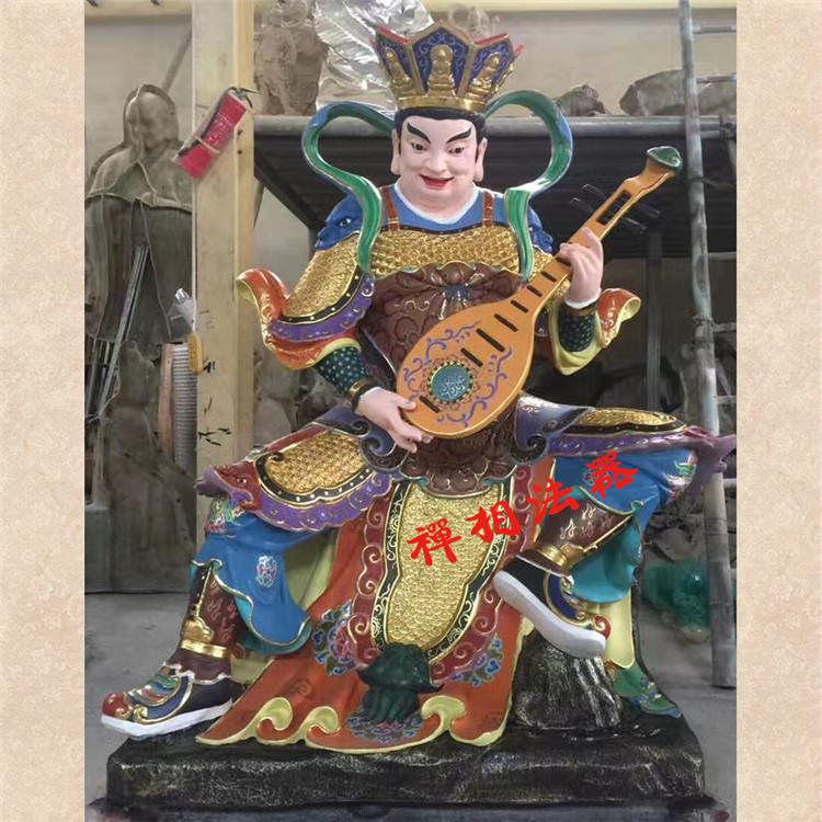 广州大型四大天王佛像 铜佛像厂家直销