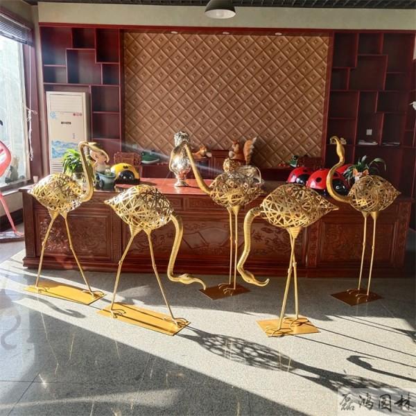 酒泉市磊鸿园林不锈钢雕塑厂 不锈钢动物雕塑造型 不锈钢雕塑制品定制