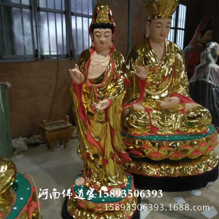 西方三圣佛像1.6米6000元 东方三圣佛像 日光菩萨月光菩萨神像示例图1