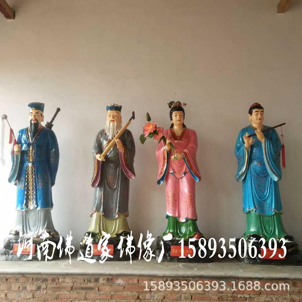 河南佛道家定制八仙神像铁拐李 钟离权 蓝采和 张果老 何仙姑神像示例图5