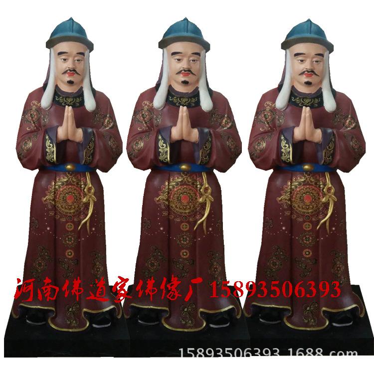 三霄娘娘佛像厂家 送子奶奶3米高 道教神像批发订制示例图2